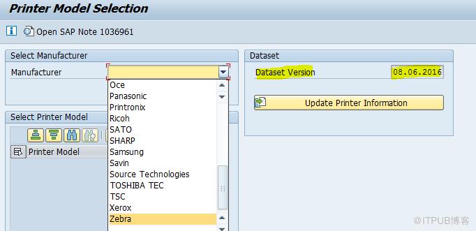 Zebra Label Printing – Configuration in SAP