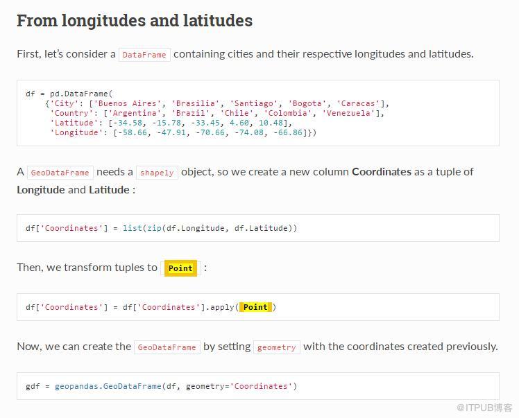 """Geopandas——从""""可视化""""到""""字母化""""的空间数据分析"""