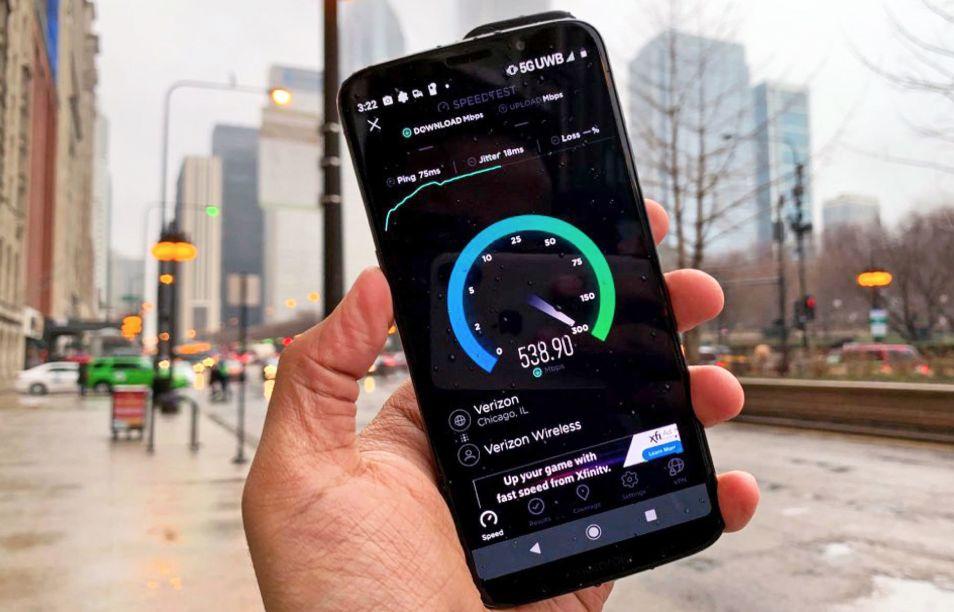 8国5G网速测评!美国最快,是4G的2.7倍