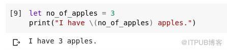 零基础学习Swift中的数据科学